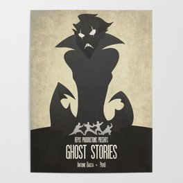Ghost Stories - Minimalist Board Games 11 Poster