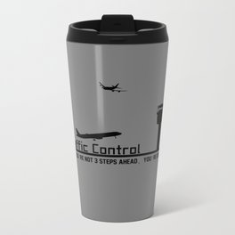 Air Traffic Control Metal Travel Mug