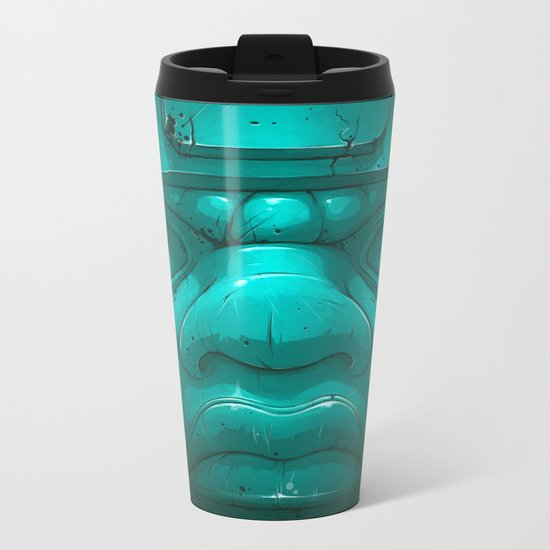 Olmeca III. Metal Travel Mug