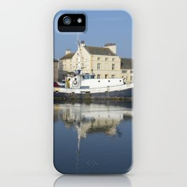 Trefusis GY242 at Glasson Dock iPhone Case