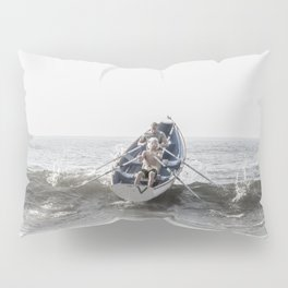 Over The Wave Pillow Sham