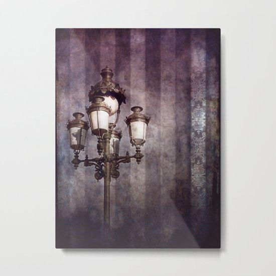 NIGHT IN VENICE Metal Print