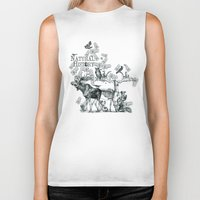 history Biker Tanks featuring Natural History by Jonathan P