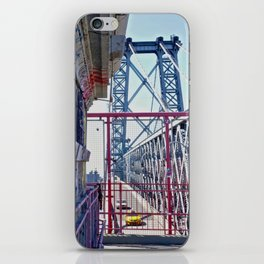 Williamsburg Bridge traffic iPhone Skin