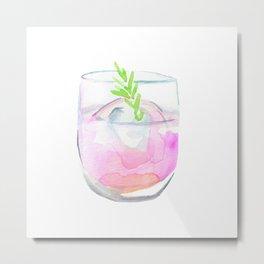 Cocktail no 3 Metal Print