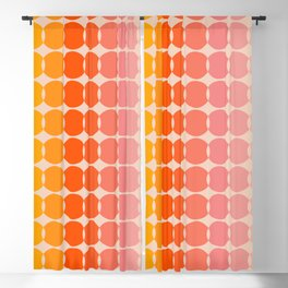 Strawberry Dots Blackout Curtain