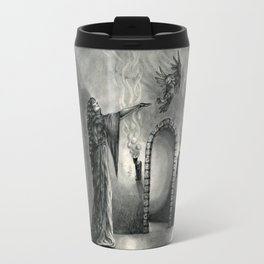 The Owl and the Witch Travel Mug