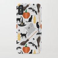 halloween iPhone & iPod Cases featuring Halloween by Julia Badeeva