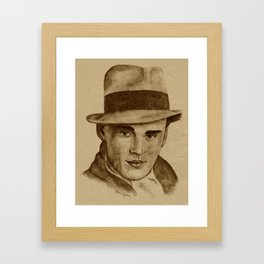 1930's Man Framed Art Print