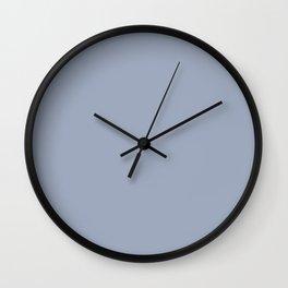 ZEN BLUE solid color Wall Clock