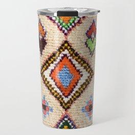N15 - Oriental Traditional Bohemian Moroccan Artwork. Travel Mug