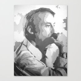 Saul Goodman (Black & White) Canvas Print