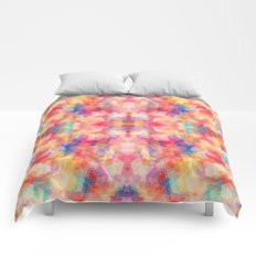 Abstract Reflection Comforters