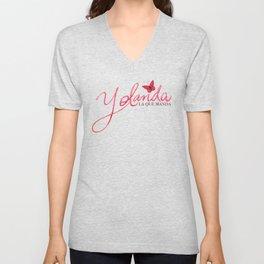 Yolanda Unisex V-Neck