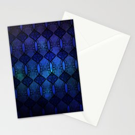 Sapphire Glass Stationery Cards