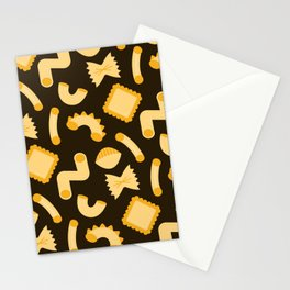 Pasta Shapes Stationery Cards