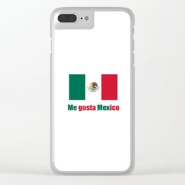 Flag of mexico 5- mexico,mexico city,mexicano,mexicana,latine,peso,spain,Guadalajara,Monterrey Clear iPhone Case
