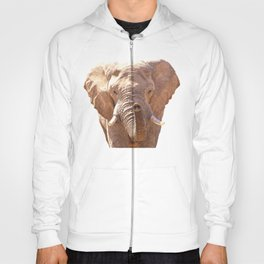 Elephant illustration Hoody