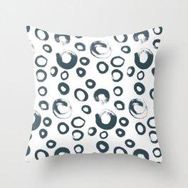Ring pattern Throw Pillow