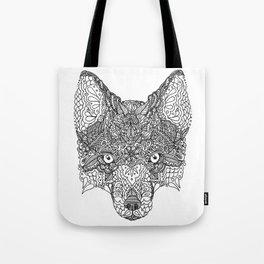Decorative Fox Tote Bag