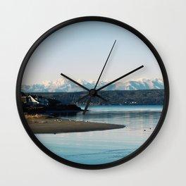 Hood Canal, WA Wall Clock