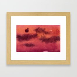 Dreaming of sky Framed Art Print
