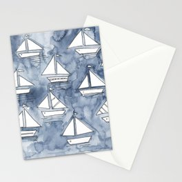 Sail with us! Stationery Cards