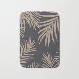 Palm Leaves Pattern Sepia Vibes #2 #tropical #decor #art #society6 Bath Mat