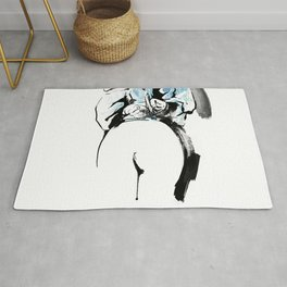 Shibari - Japanese BDSM Art painting #2 Rug