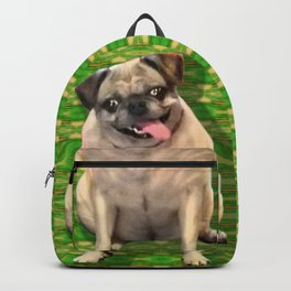 Roxie, framed! Backpack