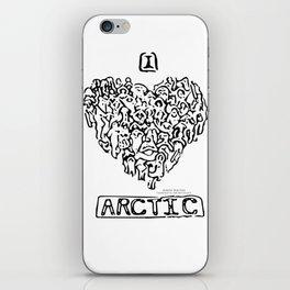 I Heart Arctic By Joseph Winters iPhone Skin
