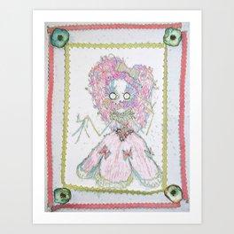 Velvetesque Dolls • Victorian Collection #3B Art Print