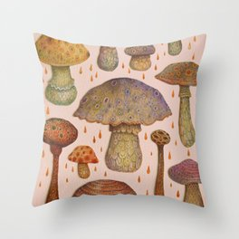 Sunshine Stalkers Throw Pillow