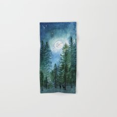 Silent Forest Hand & Bath Towel