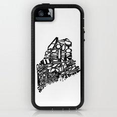 Typographic Maine Adventure Case iPhone (5, 5s)