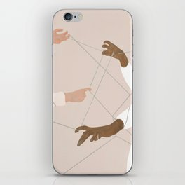 Wired Together iPhone Skin