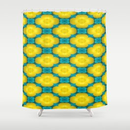 Candy Flowers Shower Curtain