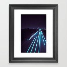 75(glow) Framed Art Print