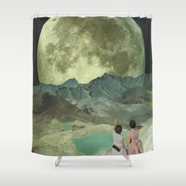 The last of the Supermoons Shower Curtain