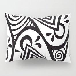 Doodle mounds Pillow Sham