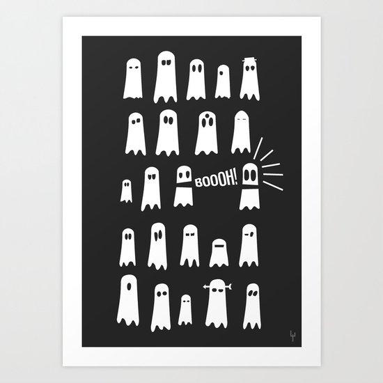 Little Ghosts Art Print