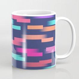 Abstract colorful sripes Coffee Mug