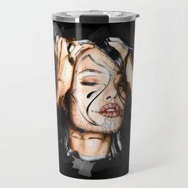 Angelina - Dia de los Muertos Travel Mug