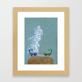 Farewell (Abschied) Framed Art Print