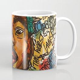 chance the rapper,coloring book,shirt,lyrics,music,art,wall art,cool,dope,colorful,painting,fan art Coffee Mug