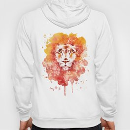 PRIDE (Water colour Lion) Hoody