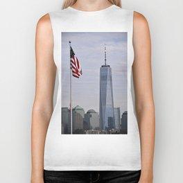 Freedom Symbol/Freedom Tower Biker Tank