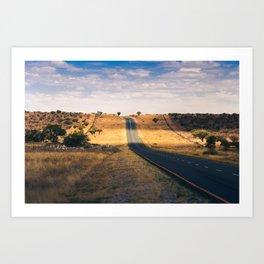 Road in Africa Art Print