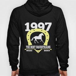 Equestrian Gift 1997 Birthday Present Horse Riding Hoody