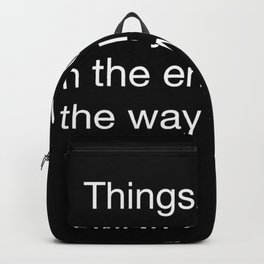 Harry P quote 2 Backpack
